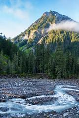 Eagle Peak and Paradise River MRNP (www.mikereidphotography.com) Tags: mountain landscape rainier mrnp