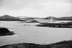 Through Lofoten (MikyAgo) Tags: sea bw white black norway island islands nikon mare north bn arctic lofoten bianconero norvegia nord arcticcircle artico isola lofotenislands 2016 isole circolopolareartico d80 isolelofoten mikyago