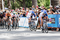 Blue Train, Bell Lap (Garrett Lau) Tags: bicycle cycling women racing sacramento amgen criterium stage4 2016 belllap circuitrace tourofcalifornia annieewart womenscircuitrace sacramentocircuitrace amgenbreakawayfromheartdiseasewomensrace