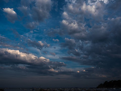 An Evening Sky (jerryms) Tags: costa beach de seaside spain 5 olympus catalonia catalunya em brava omd begur calella tamariu palafrugell