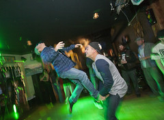 DancePartyBackFlipA (B Shree B) Tags: canada motion ferry port washington dance vespa angeles columbia victoria lambretta destiny soldiers scooters british scooterrally backflip