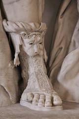 Ancient Rome. Roman footwear (detail) (mike catalonian) Tags: sculpture detail footwear marble ancientrome