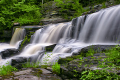 Running Falls (mgrogers2003) Tags: nature water forest woods falls sonya700