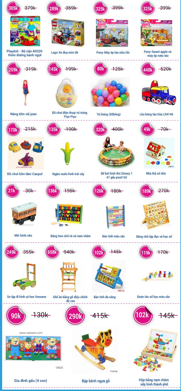"""[Đón tết thiếu nhi] TutiCare ra mắt showroom đồ chơi """"Bé chơi thỏa thích - Mẹ sắm thả ga"""" Sale off 50%(26/5 - 1/6)"""