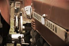 IMG_2098 (kxl439) Tags: red tractor antique farm equipment agriculture masseyferguson rutledgewilsonfarmpark