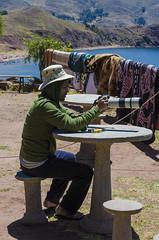 . (arcibald) Tags: lake peru titicaca playa andes puno capachica chifron
