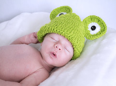 Baby Frog (kellyhackney1) Tags: family boy baby silly cute green love hat fun happy photography frog cherub myworld littleboy babyboy froghat piccy babypics babyfrog homestudio babylove ourbaby babypose babyshoot