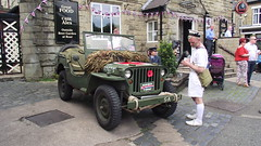 Jeep, 1940s Week-End, Ramsbottom (mrrobertwade (wadey)) Tags: holland may lancashire elr liberated ww11 warweekend robertwade wadeyphotos mrrobertwade