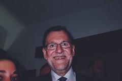 (Franafricano) Tags: street espaa me smile spain candid flash 28mm streetphotography hardcore elections ricoh rajoy ricohgr primeminister pp elecciones parador marianorajoy hotl strobist 26j hotellamuralla hotelmurallaceuta hotelparadorlamurallaceuta