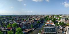 2016-05-31 18.16.19 (tmwang16) Tags: amsterdam panoramic urban westerkerk