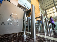 Plaza Asia (Henry Sudarman) Tags: plaza building tower architecture indonesia lumix office officebuilding panasonic jakarta officetower plasa gedung arsitektur gm1 mirrorless gedungperkantoran plazaasia