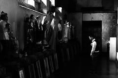 Faithful (iecharleton) Tags: daraga albay philippines prayer catholic church saints candid