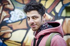 Luis (guspaulino1) Tags: argentina buenosaires graffity mirada hombre joven