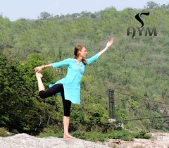 Natarajasana / Lord of the Dance Pose (AYM Yoga School India) Tags: yoga pose health posture fitness asana kundalini hatha ashtanga yogateachertraining yogaschool yogacourse yogattc