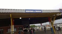 Arriving in to Paraguay, passport time again