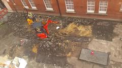 20160621_093154 (Carol B London) Tags: tarmac courtyard charcoal e1 wedge sgc ids stepney londone1 stepneygreen newlayout newsurface charcoalbricks steneygreencourt wedgeengineering