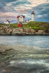 Nubble Light (brian-caldwell.artistwebsites.com) Tags: ocean sea lighthouse landscape coast harbor lighthouses maine newengland seashore nubblelight nubble capeneddick