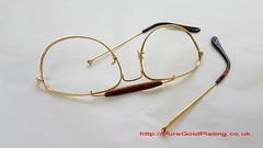 Gold Plated Sun Glasses (PureGoldPlating) Tags: