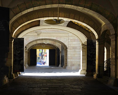 The Virreina Palace (chrisk8800) Tags: barcelona arches palace passage againstthelight virreina