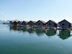 Khao Sok NP (Cheow Lan Lake), Thailand (Jan-2016) 16-036 (MistyTree Adventures) Tags: lake water thailand seasia outdoor dam huts accommodation cheowlanlake panasoniclumix khaosoknp