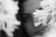 Youth! (Marco_964) Tags: bw flower youth eyes bokeh bn fiori bianconero giovent sfocato