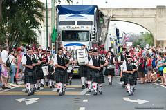 Bag pipes - Jacaranda Parade 2015 (sbyrnedotcom) Tags: 2015 people events grafton jacaranda parade rural town scottish bagpipes kilts nsw australia