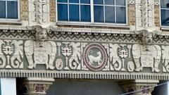 P1080677 (1) (chemtrailchaser) Tags: daytonohio weird bizarre satanic freemasons evil architecture stone brick building