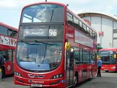 Londoner Live 2016 at West Ham Garage (dml649) Tags: stagecoach 13022 bg14ont volvob5l wrightgemini eclipsegemini volvo wright wrightbus route96 westham londonerlive westhamgarage