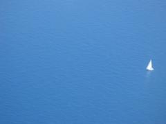 Mittelmeer (lunamtra) Tags: meer mittelmeer blau wasser schiff segelboot