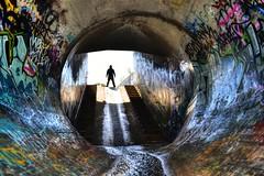 Go In BIG Drains... (JAZ-art) Tags: drain drains draining storm water tunnel tunnels 50th victoria under ground underground urban urbex explore exploring jazart