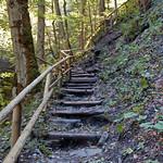 Garmisch - Partnachklamm (13) - Weg oberhalb der Klamm thumbnail