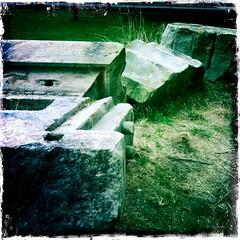 Euston Arch Remains (Ronald Hackston) Tags: uk england london ruins arch column remains euston londonist ronniehackston