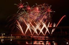 Fireworks (kana hata) Tags: sea summer festival japan night event yokohama hakkeijima