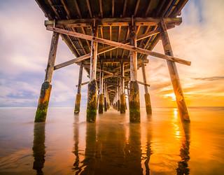 Newport Beach Pier Sunset