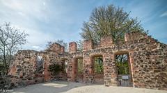 Ruine (straab) Tags: deutschland hessen ruine schloss frankfurtammain höchst höchster