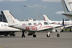 9A-DKB (GH@BHD) Tags: corporate geneva aircraft aviation malibu mirage piper executive gva pa46 bizprop genevainternationalairport 9adkb