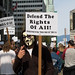 Protest against Bill C-51 - April 18, 2015 - Vancouver BC, Canada