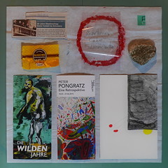 """15. 5. 2015: 1955 Signing Ceremony Austrian Independency Treaty / picked up stone / visited Essl Museum Peter Pongratz Retrospektive, Neue Wilde, Gugging Gästebuch Leo Navratil - """"an apple a day keeps the doctor away - An ENSO (kreis) a Day ..."""""""