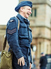 Old time laughs (John P Norton) Tags: blue laughing happy uniform wwii f18 reenactment fromthehip 40s aperturepriority 11600sec focallength75mm olympusm75mmf18 olympusem1 copyright2015