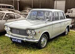1965 FIAT 1300 (Vriendelijkheid kost geen geld) Tags: holland festival oldtimer noord