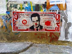 Paris 2015 (Hanoi1933) Tags: usa paris france bill politics dollar rue mur politique sarkozy billet usdollar parigi 2015   parisstreetart  billetdebanque pariswallart