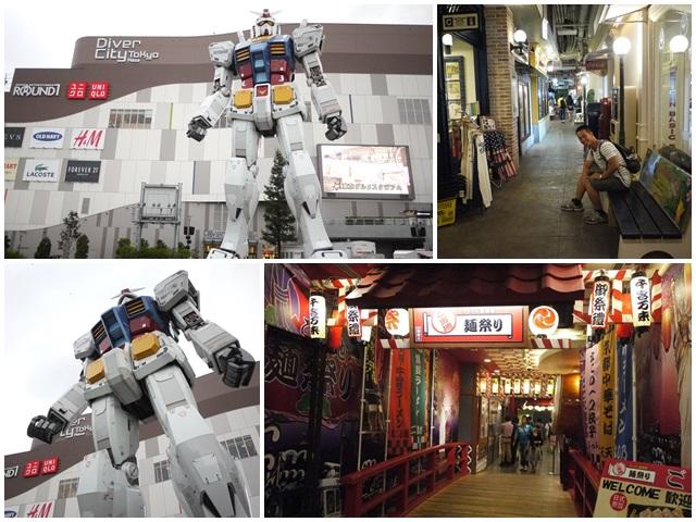 東京台場aqua city 鋼彈 diver city 拉麵國技館page