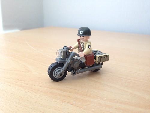 WW2 US Motorbike