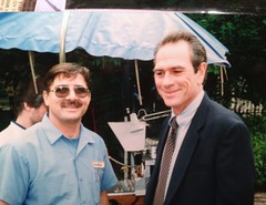 Tommy Lee Jones,  Pictures With Celebrities (Picture Proof Autographs) Tags: show new news celebrity classic film sign set movie stars real nbc lights star photo tv screenshot image action background picture screen images screenshots collection photographs photograph collections extras hollywood fred movies shows abc celebrities proof session collectible collectors filming signing extra collectibles authentic sessions cbs collector frederick signed genuine onset cameria inperson photoproof authenticated sigatures sigature weichmann pictureproof lightscameriaaction fredweichmann