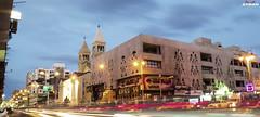 . (Ayman Abu Elhussin) Tags: street old light history cars church architecture clouds cityscape nightshot egypt midtown portsaid longshutter  ayman    mohamedali   kesra         ayman6681   aymanabuelhussin