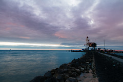 {cold morning} (Audrey Meffray) Tags: light sea lighthouse nature water netherlands amsterdam canon availablelight rainy 24mm fullframe campagne paysbas marken badweather balade 6d primelens eos6d canon6d canoneos6d ef24mm28isusm