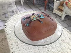 Benjamin's Robot Cake (Rachie Roo) Tags: cake robot ben benjamin