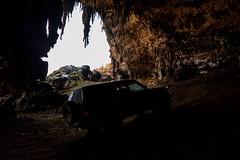 Drive In Cave, Socotra Island (Rod Waddington) Tags: island drive 4wd east cave yemen middle yemeni socotra socotri