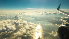 Above the clouds (Brave-Wolf) Tags: sky clouds airplane flying wings wing cielo nubes avin skyview volando vistaarea aladeavin