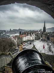 View from Castle Battlements (FotoFling Scotland) Tags: edinburgh edinburghcastle fotoflingscotland explore